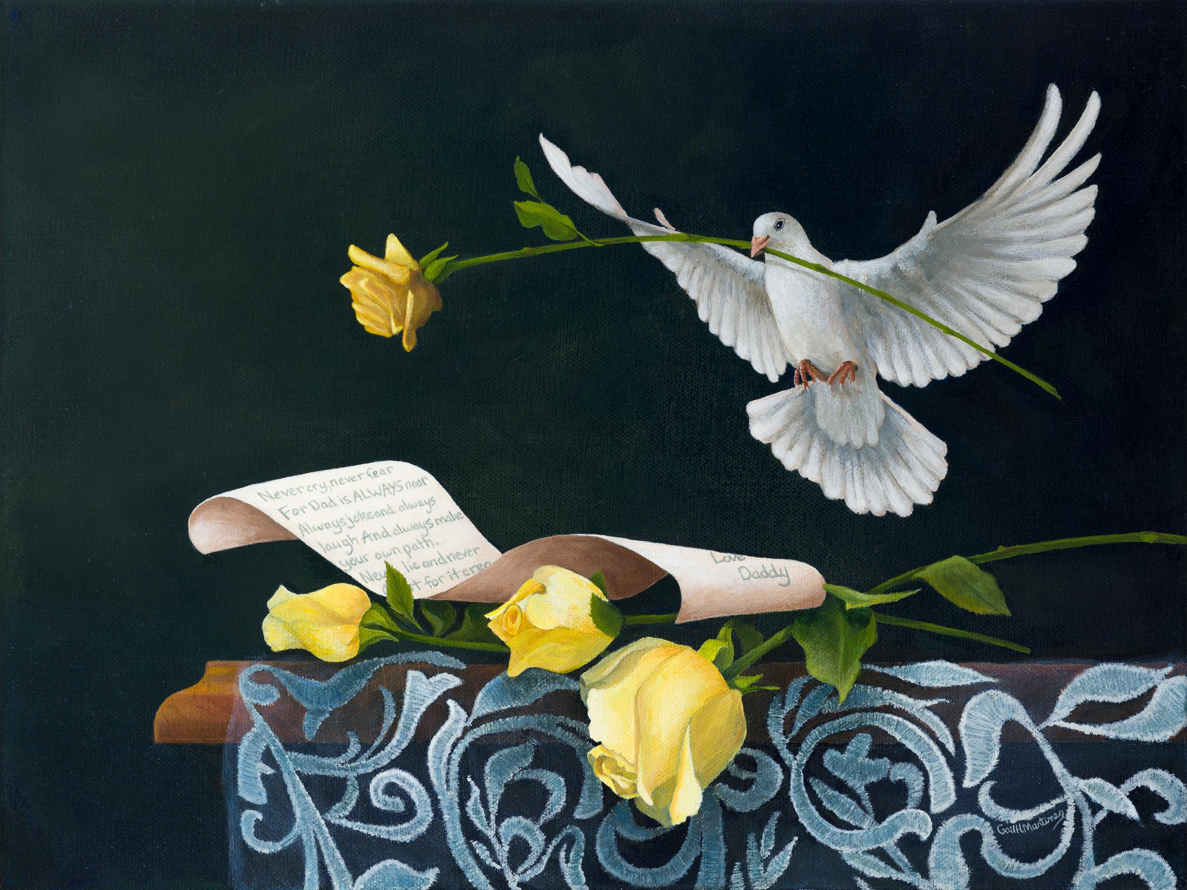 Dove - acrylic