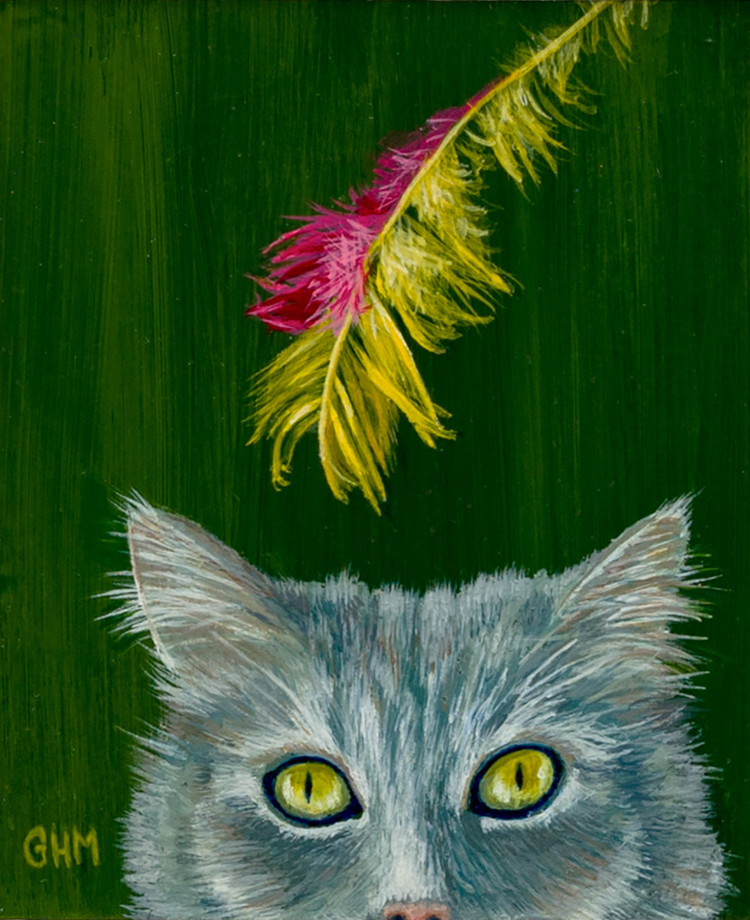 I Hear A Feather - Acrylic