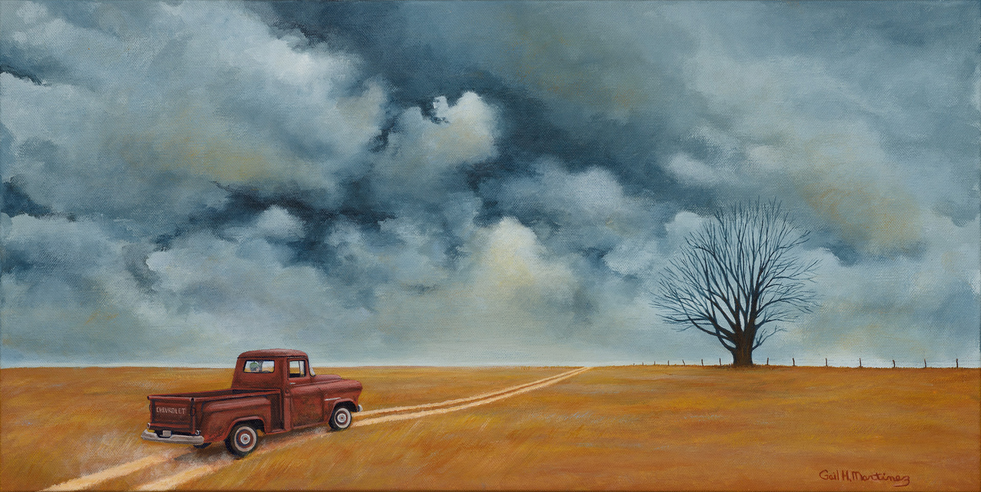 A Road Well Traveled - Acrylic