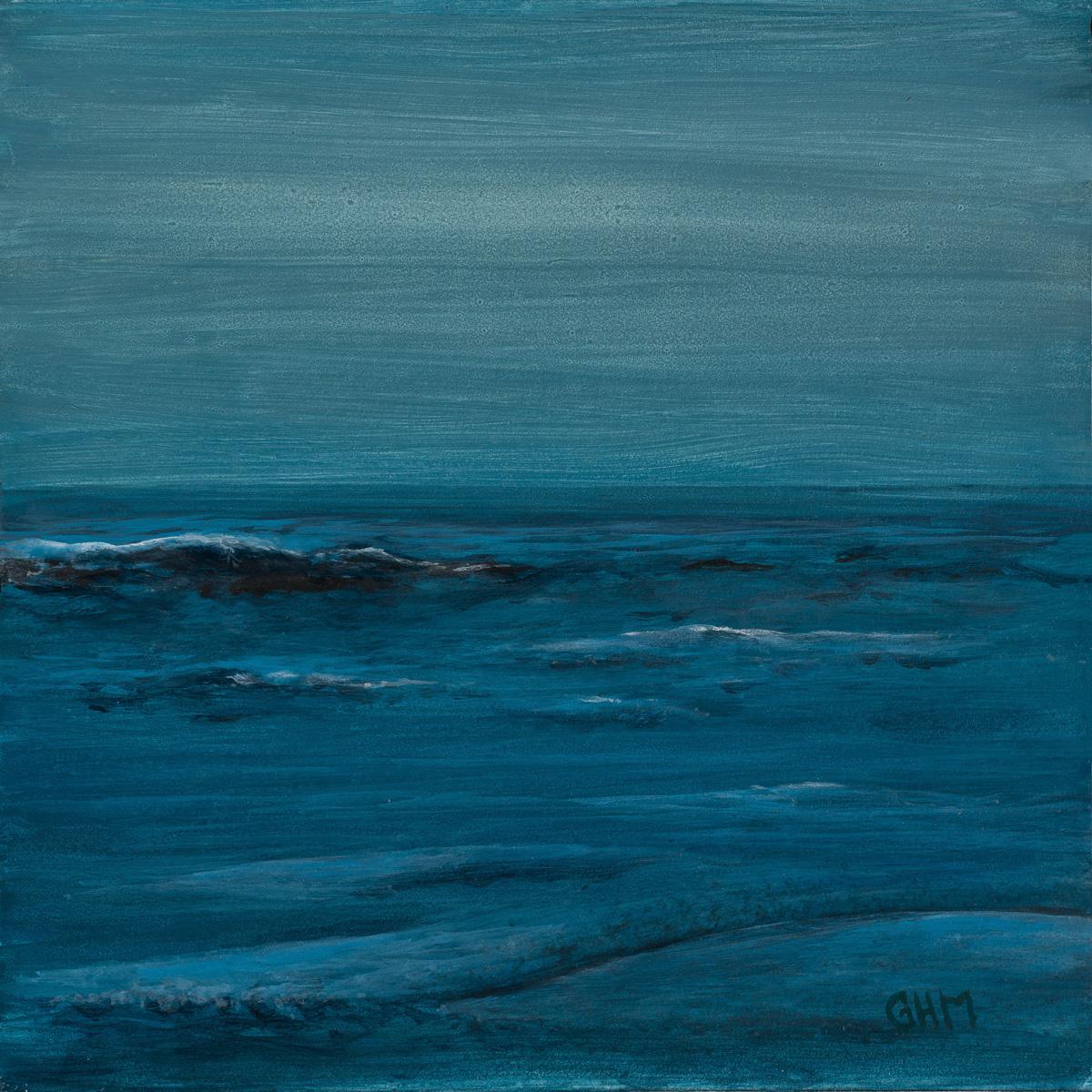 Blue Serenade - acrylic