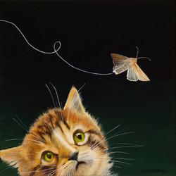 Perilous Flight - Acrylic