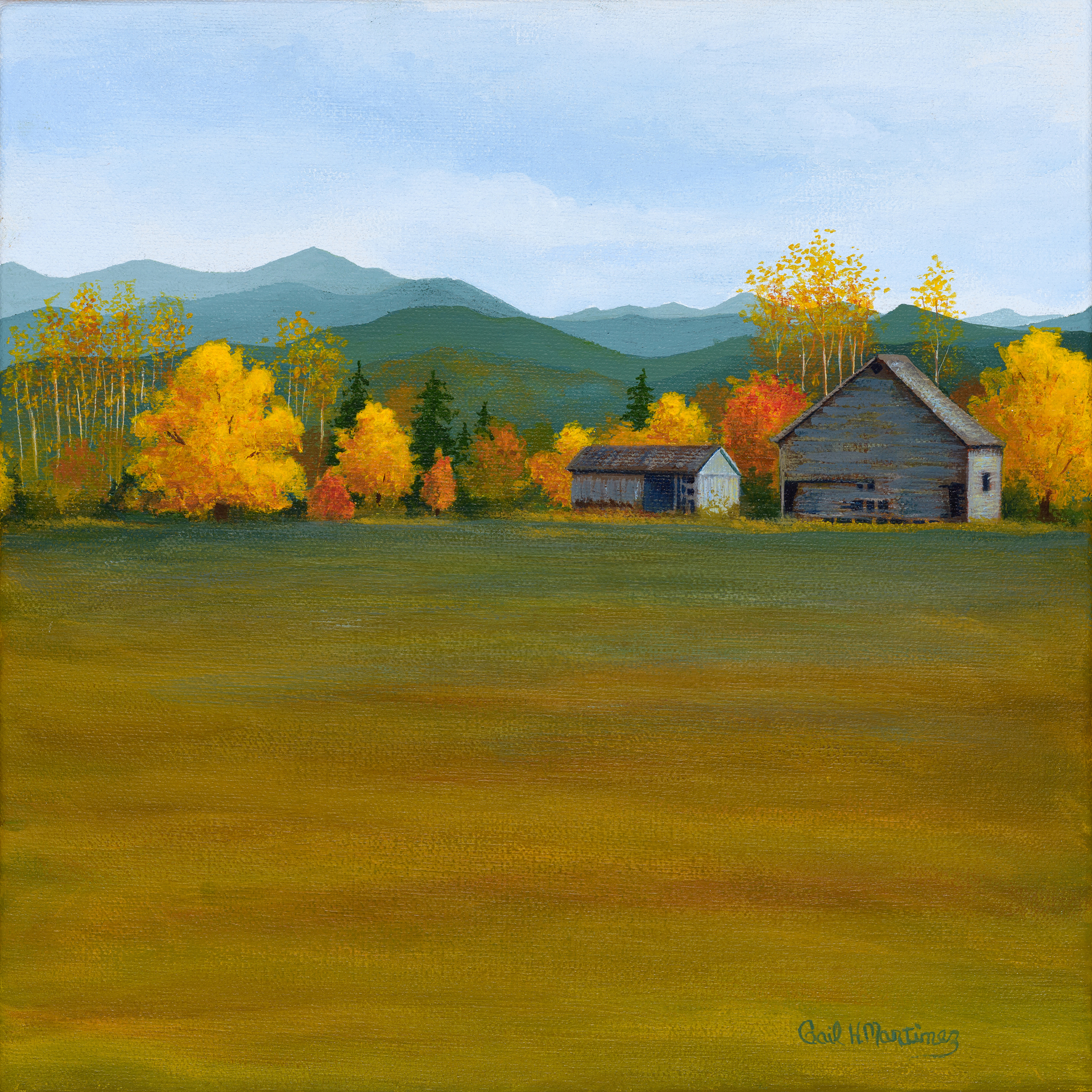 Snohomish Barn - Acrylic