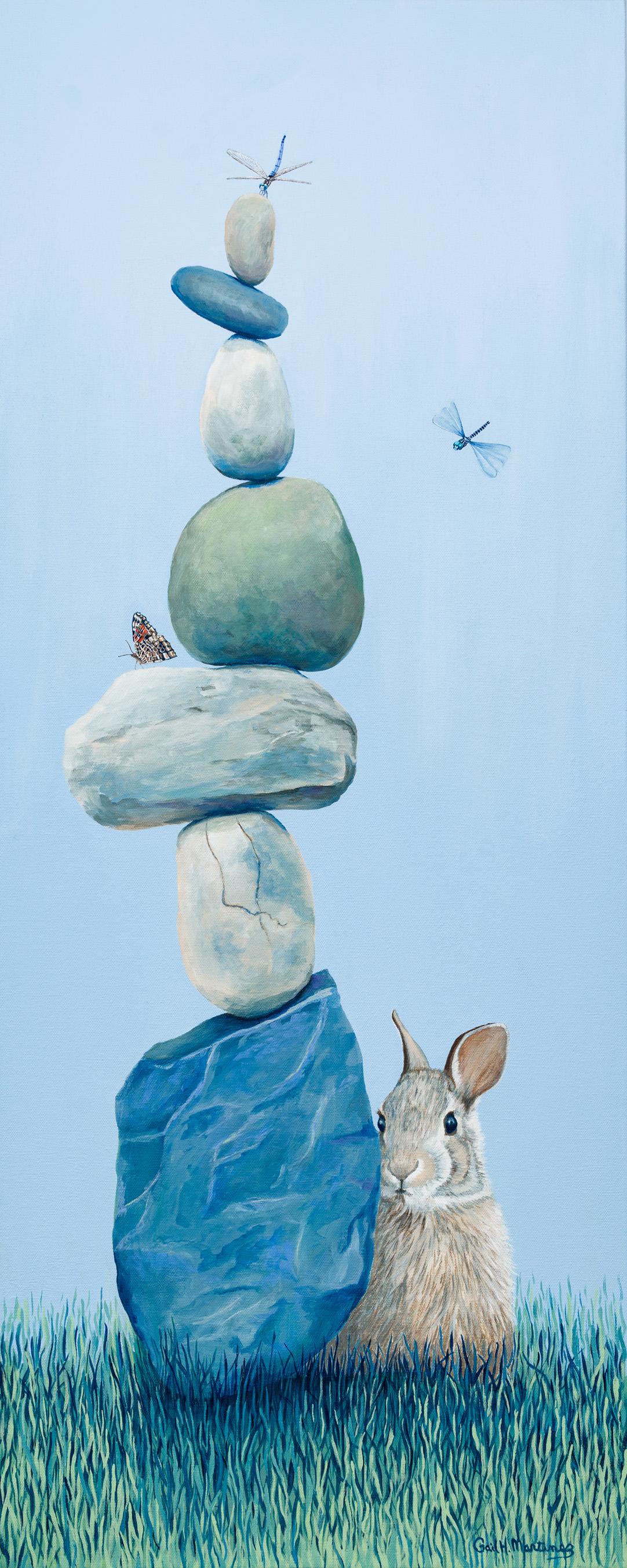 Balancing Act - Acrylic