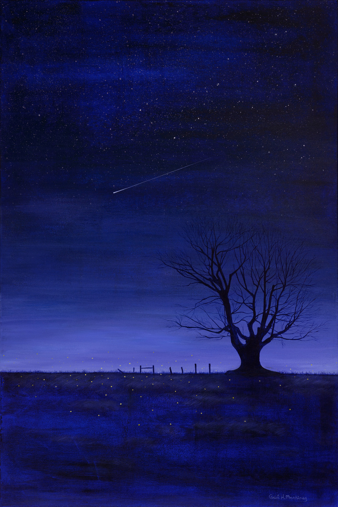 Catch a Falling Star - Acrylic