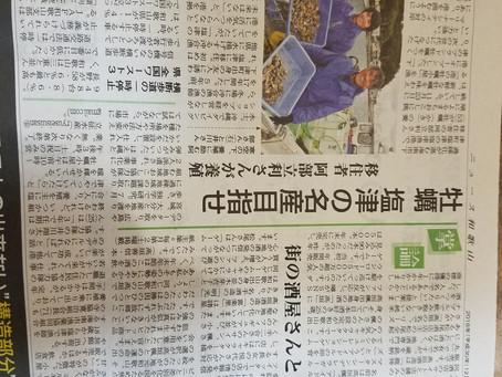 本日ニュース和歌山に掲載されました。