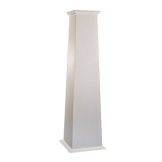 Fiberglass Column | Tapered