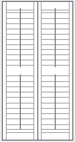 Full Height Shutter Panel