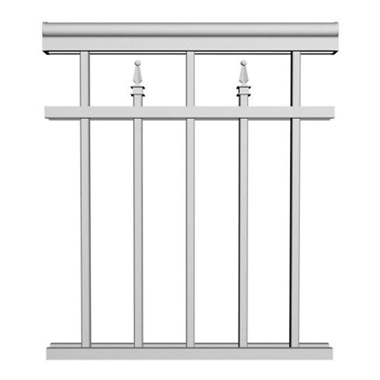 Aluminum Picket Railing | RCD19