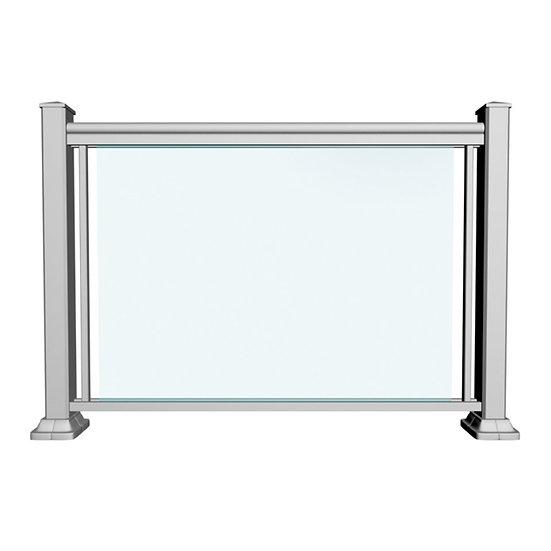 Aluminum Glass Railing | GRCD1