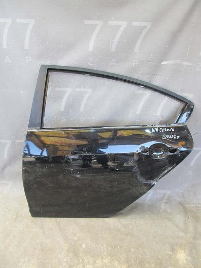Kia Cerato 3 (YD) Дверь задняя левая Б/у Оригинал