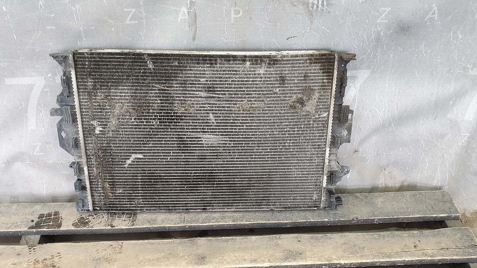 Ford Mondeo 4 (06-14г) Радиатор охлаждения ДВС Б/У Оригинал