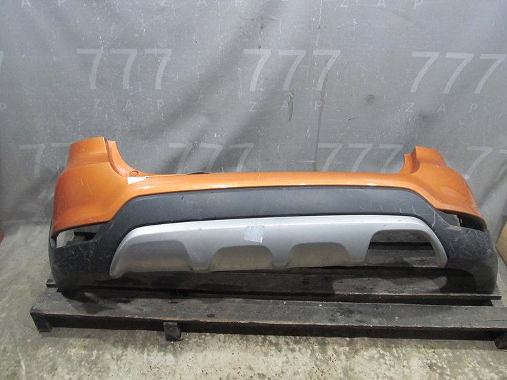 Kia Rio 4 (FB) X-Line 17- Бампер задний Б/у Оригинал