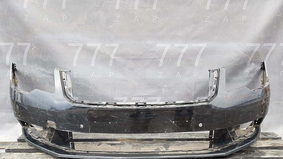 Skoda Superb 2 13-15 Бампер передний Б/у Оригинал