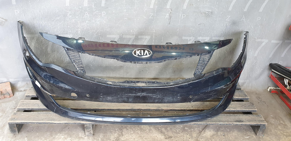 Kia Optima 4 (JF) 16-18 Бампер передний Б/У Оригинал