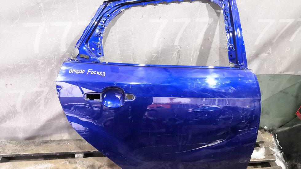 Дверь задняя правая Ford Focus 3 (11-19)  Б/У Оригинал