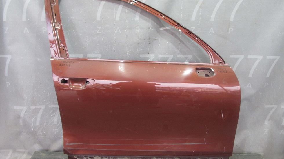 Porsche Cayenne 2 (958) Дверь передняя правая Б/у Оригинал