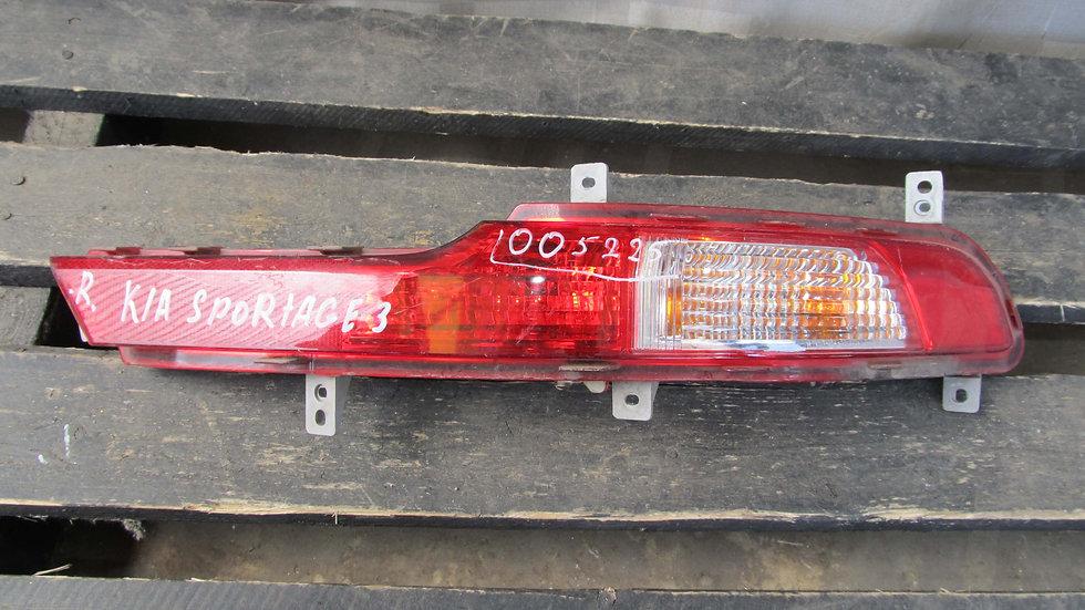 Kia Sportage 3 (SL) ПТФ задний правый Б/у Оригинал