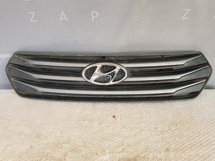 Hyundai Creta (GS) 16- Решетка радиатора  Б/у Оригинал