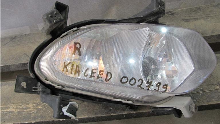 Kia Ceed 2 (JD) ПТФ передняя правая  Б/у Оригинал