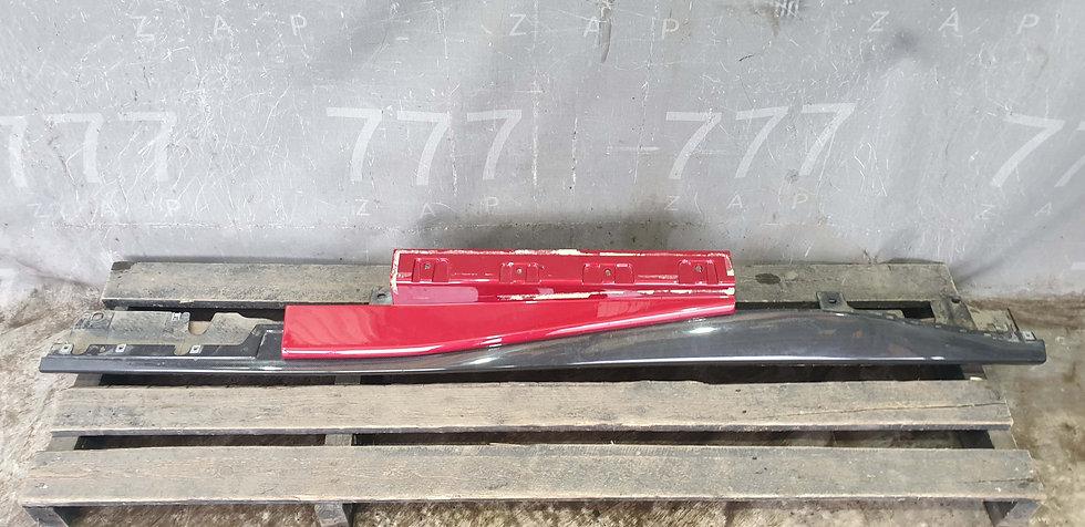 Ferrari Portofino Накладка порога левого карбон