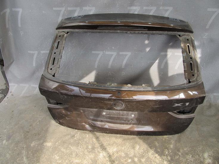 BMW X1 (E84) Крышка багажника Б/у Оригинал