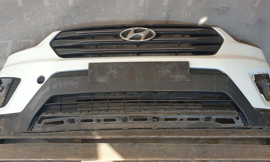 Hyundai Creta (GS) 16- Бампер передний Б/У Оригинал