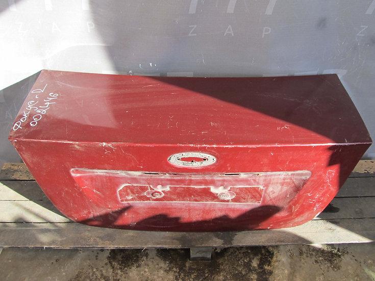 Ford  Focus 2 Крышка багажника  Б/у Оригинал