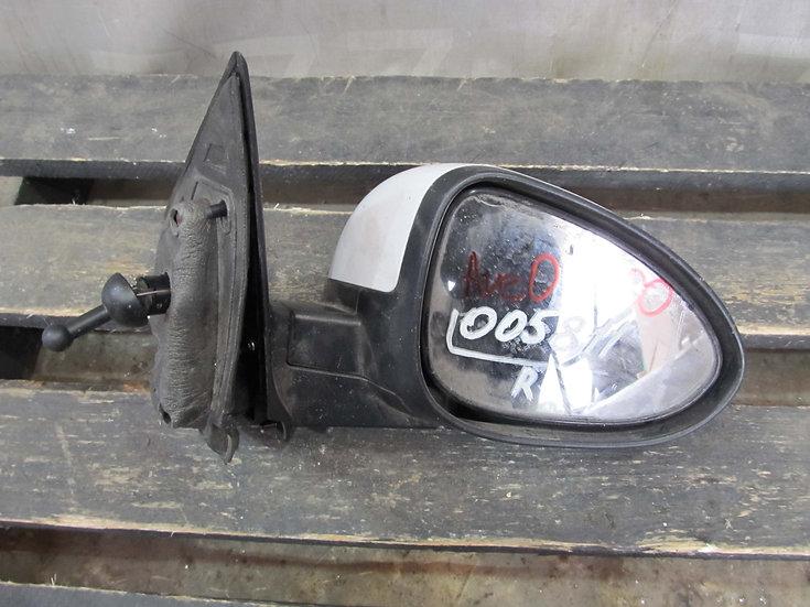 Chevrolet Aveo 2 (T300) Зеркало правое  Б/у Оригинал