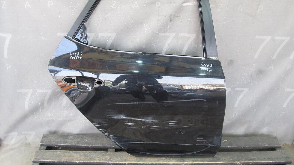 Kia Ceed 2 (JD) Дверь задняя правая Б/у Оригинал
