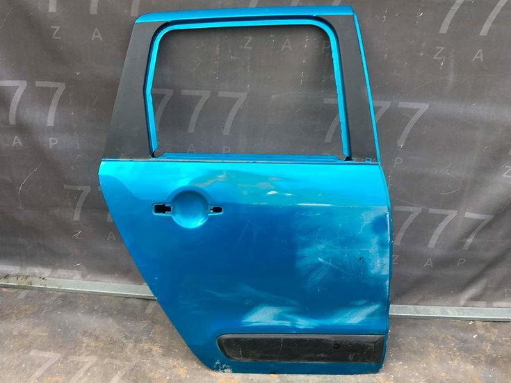 Citroen C3 Picasso 1 (SH) 09-16 Дверь задняя правая Б/у Оригинал