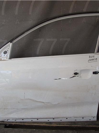 Kia Rio 4 (FB) X-Line 17- Дверь передняя левая Б/у Оригинал
