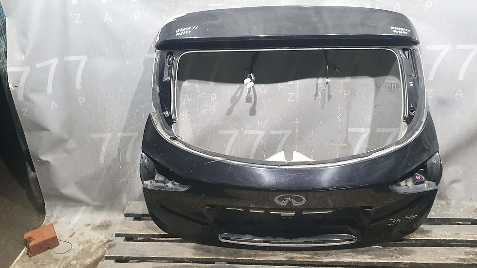 Infiniti FX QX70 S51 крышка багажника Б/у Оригинал