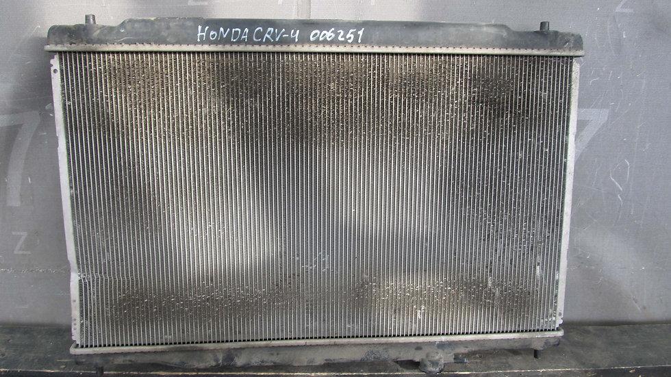 Honda CR-V 4 (RE, RM) 12-18 Радиатор охлаждения ДВС Б/у Оригинал
