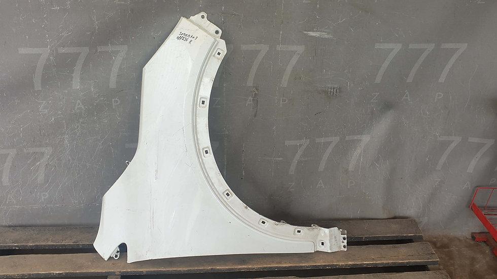 Kia Sorento 3 Prime (UM) Крыло переднее правое Б/У Оригинал