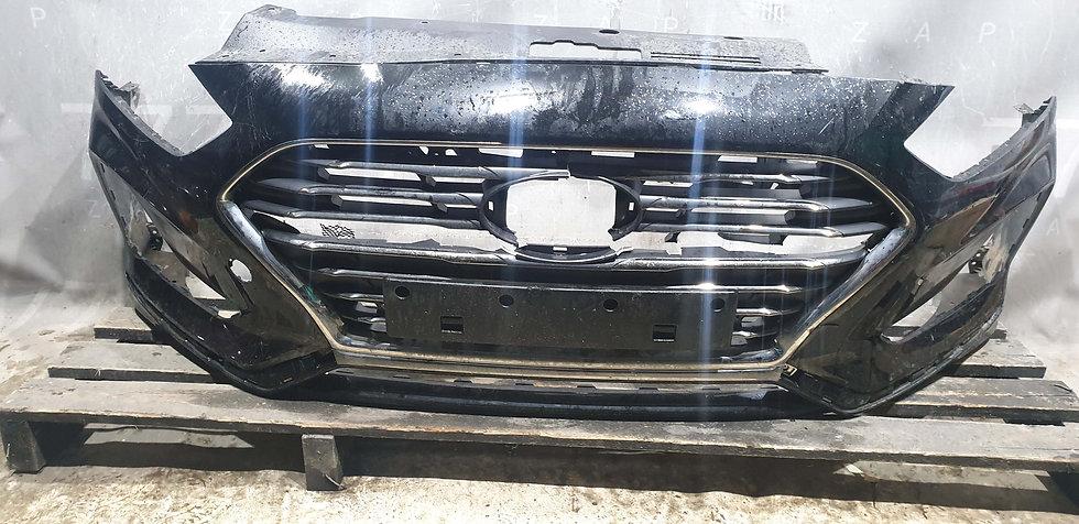 Hyundai Sonata 7 (LF) Бампер передний + Решетка Б/у Оригинал