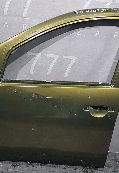 Renault Duster дверь передняя левая Б/у Оригинал