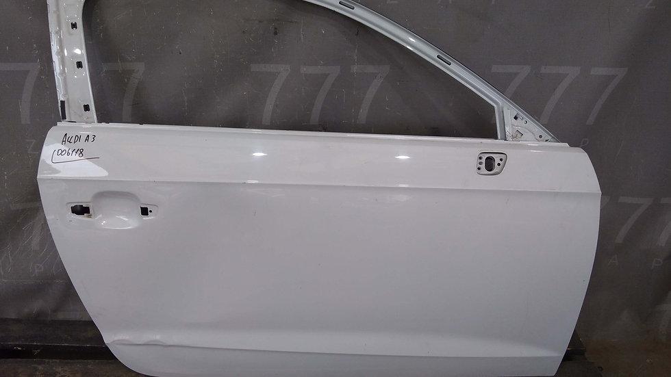 Audi A3 (8V) дверь передняя правая  Б/у Оригинал