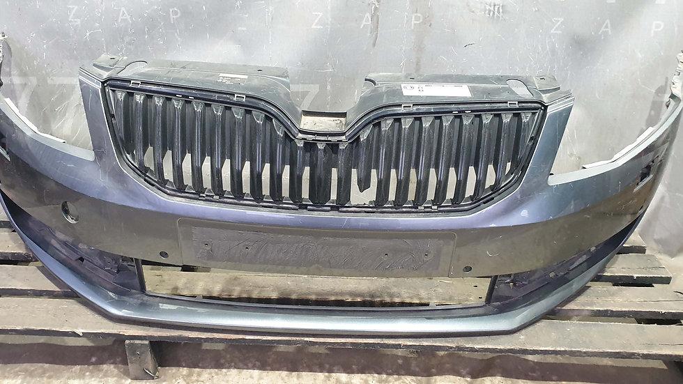 Skoda Octavia 3 (A7) 13-17г Бампер передний Б/у Оригинал
