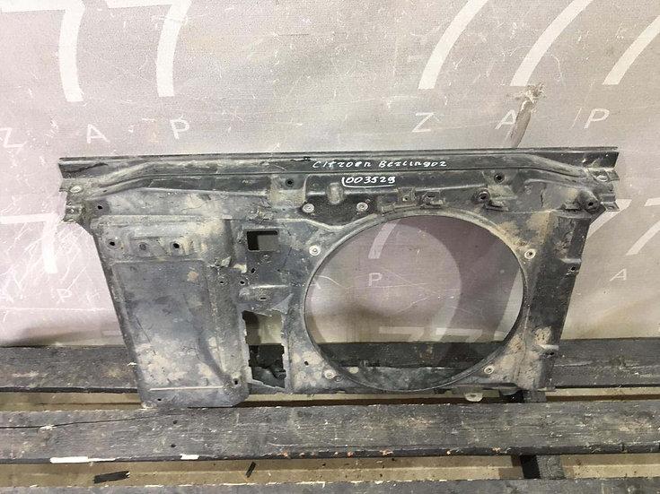 Citroen  Berlingo 2 (B9) Панель передняя (телевизор) Б/у Оригинал