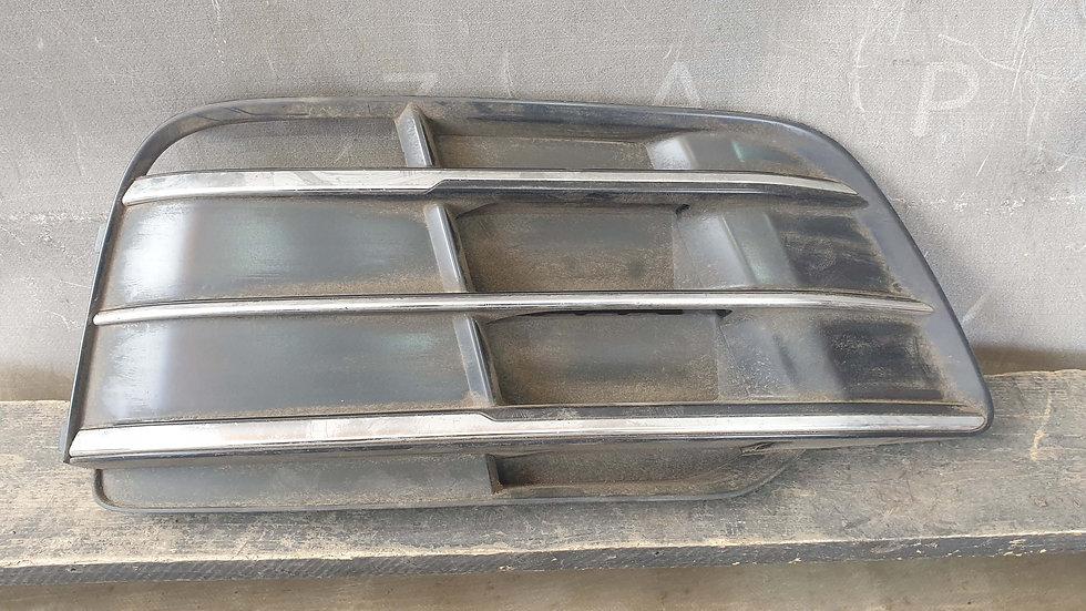 Audi Q5 2 S-Line Решетка переднего бампера правая Б/У Оригинал