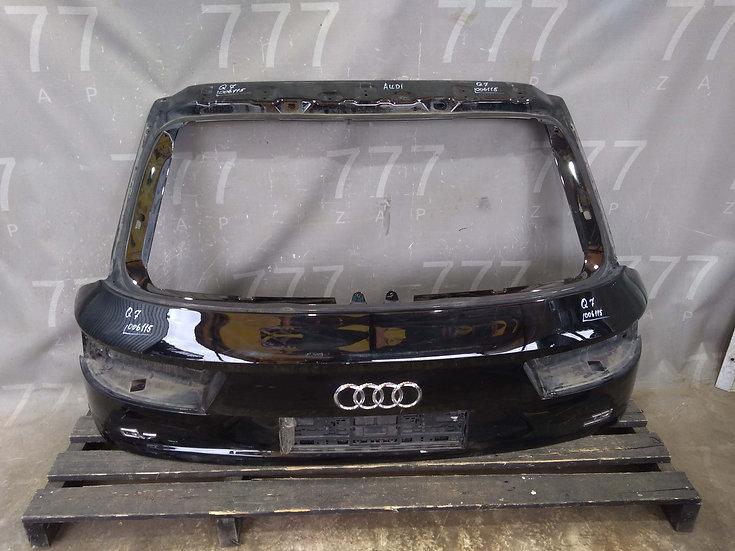 Audi Q7 2 (4M) Крышка багажника Б/у Оригинал