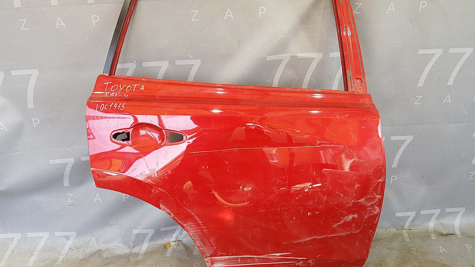 Toyota RAV4 IV (XA40) Дверь задняя правая Б/у Оригинал