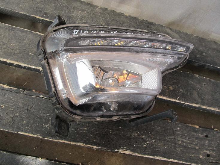 Kia Rio 3 (QB) 15-17 Птф передняя правая LED  Б/у Оригинал