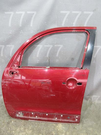 Citroen C3 Picasso 1 (SH) 09-16 Дверь передняя левая  Б/у Оригинал