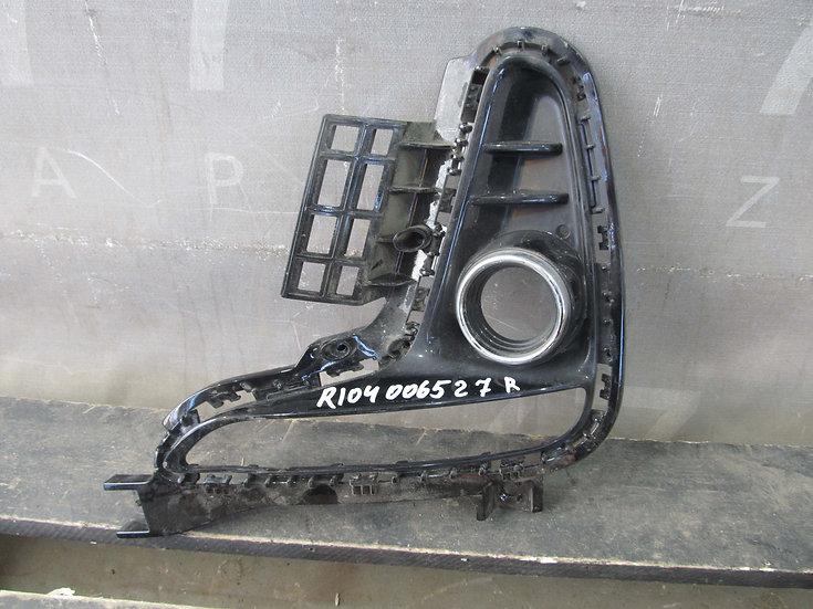 Kia Rio 4 (FB) 17- Накладка противотуманной фары правая Б/у Оригинал