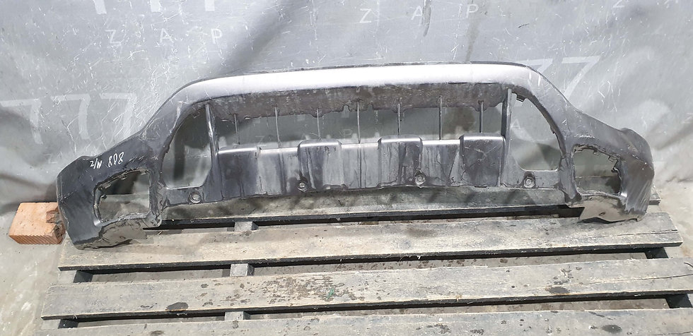 Honda CR-V 3 (RE) 09-12 накладка переднего бампера Б/у Оригинал
