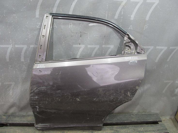 Honda Civic 9 (12-16) Дверь задняя левая Б/у Оригинал