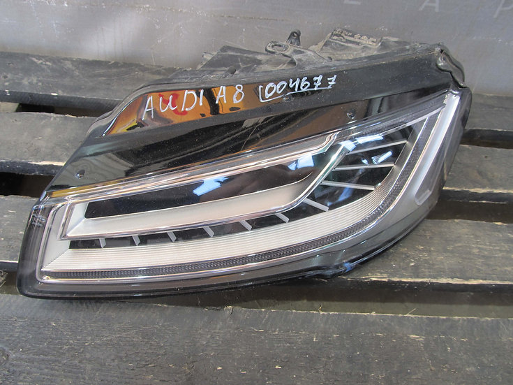 Audi A8 (D4) Фара левая FULL LED Б/у Оригинал