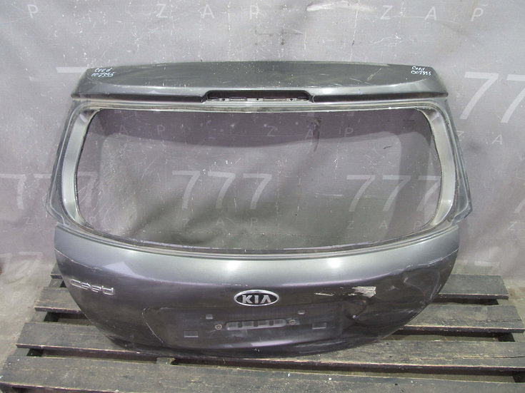 Kia Ceed 1 (ED) Крышка багажника Б/у Оригинал