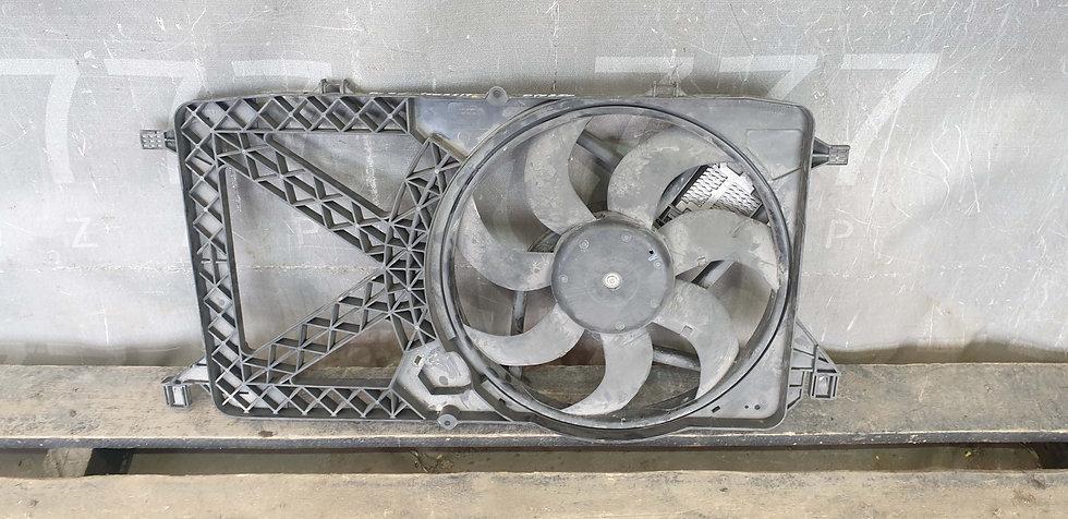 Ford Transit 06-13 Вентилятор охлаждения радиатора Б/У Оригинал